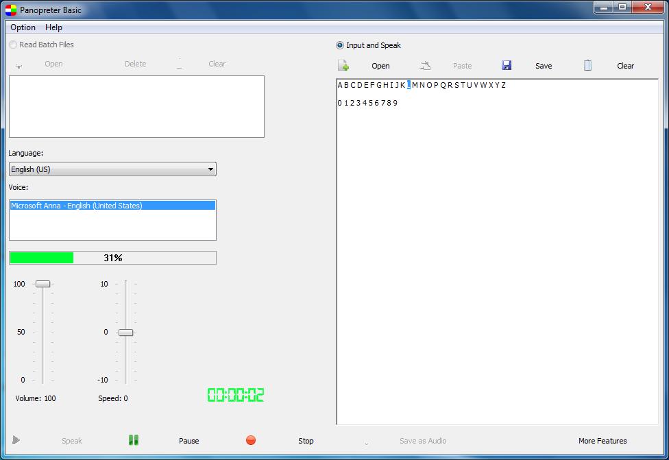 Panopreter Basic full screenshot
